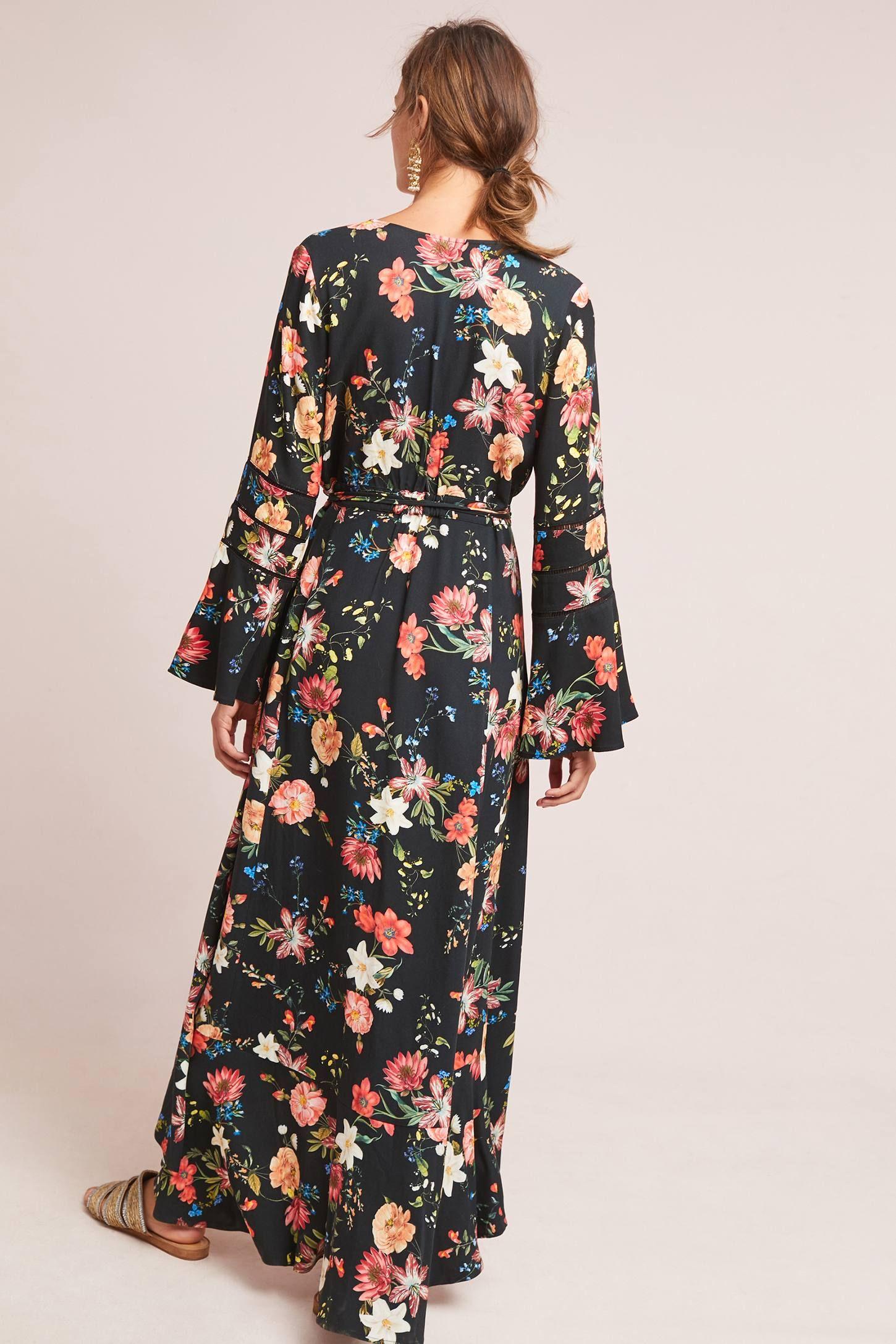 ac849eebac151 Farm Rio Summer Flower Wrap Dress | Dress Ideas | How to wrap ...