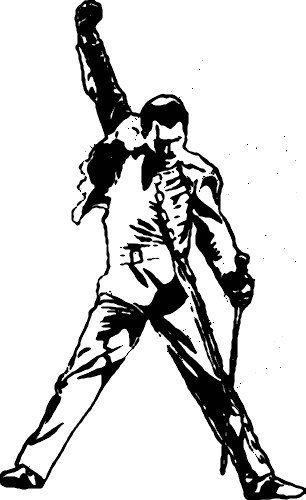 Freddie Mercury Jpg 306 500 Freddie Mercury Tattoo Freddie Mercury Queen Tattoo