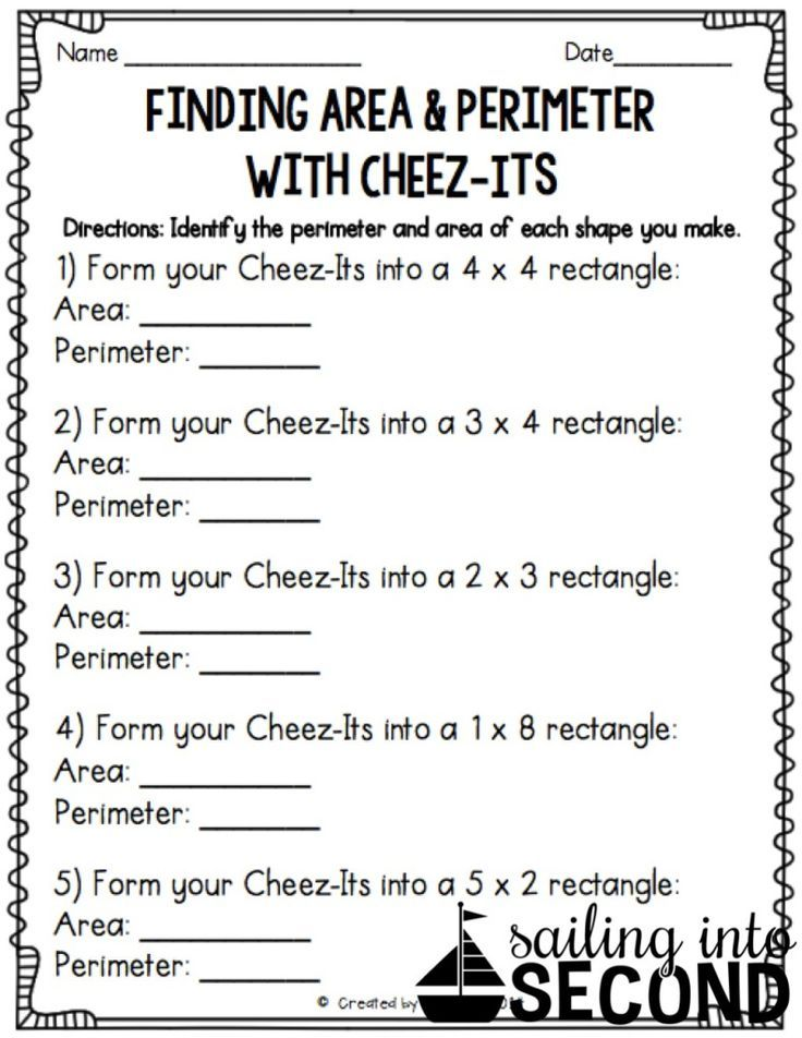 Free Worksheets free worksheets on area and perimeter : Area and Perimeter | Fun activities, Math and Activities