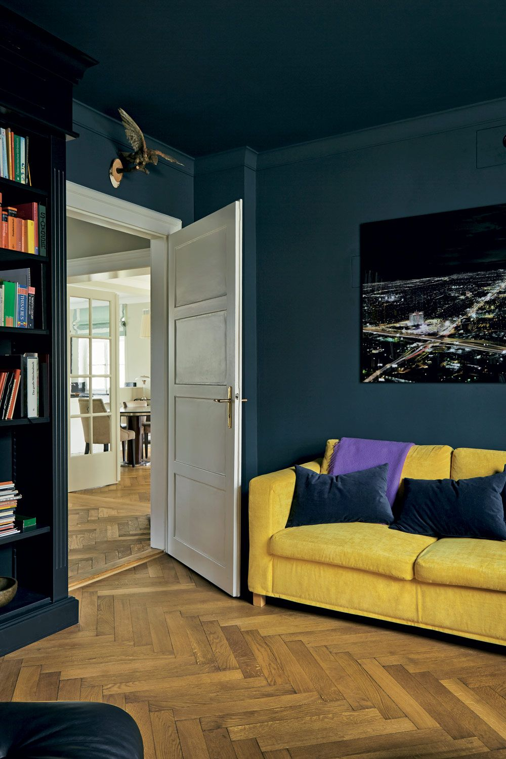 Paint Colours Black Blue Farrow Ball Yellow Rooms In 2018