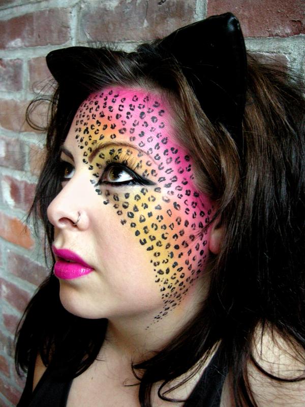 leopard make up - Google Search | make up | Pinterest | I am ...