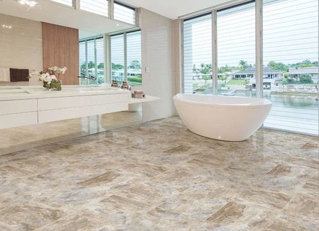 There is an amazing diversity of new flooring materials that will match  with any interior design