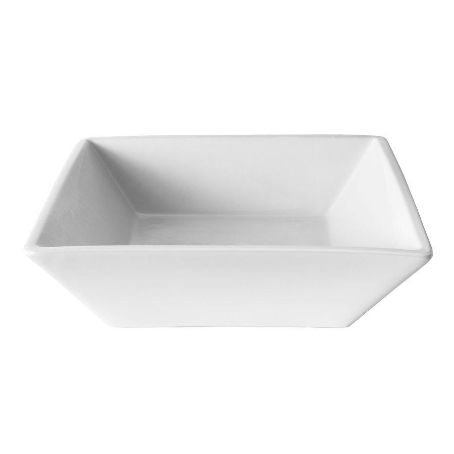 Jacuzzi Maya White Vessel Square Bathroom Sink Loweu0027s $84