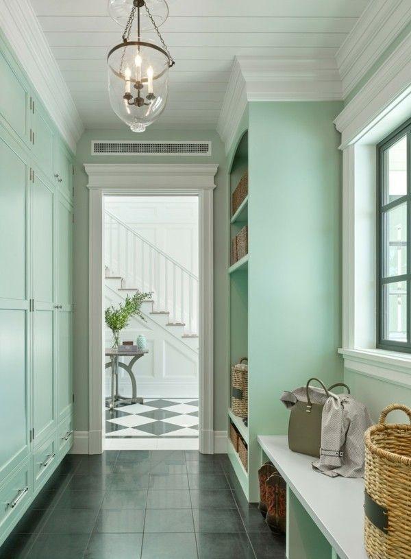 Pastellgrün Wohnideen Flurgestaltung | Haus | Pinterest | Dekoration,  Modern And Interiors