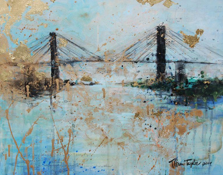 Tiffani Taylor Talmadge Bridge Savannah Ga Savannah Art Savannah Chat Art Gallery