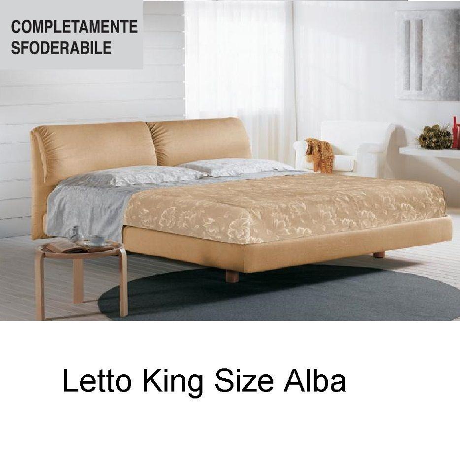 Letto King SIze Alba   Letti King Size 180x200 nel 2019   King size ...