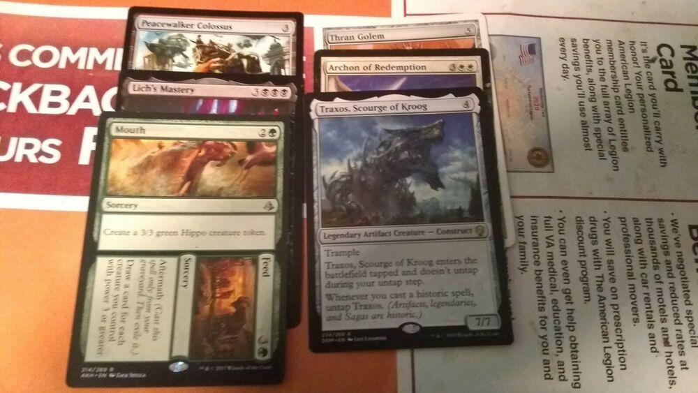 12 card rare lot random in 2020 magic the gathering