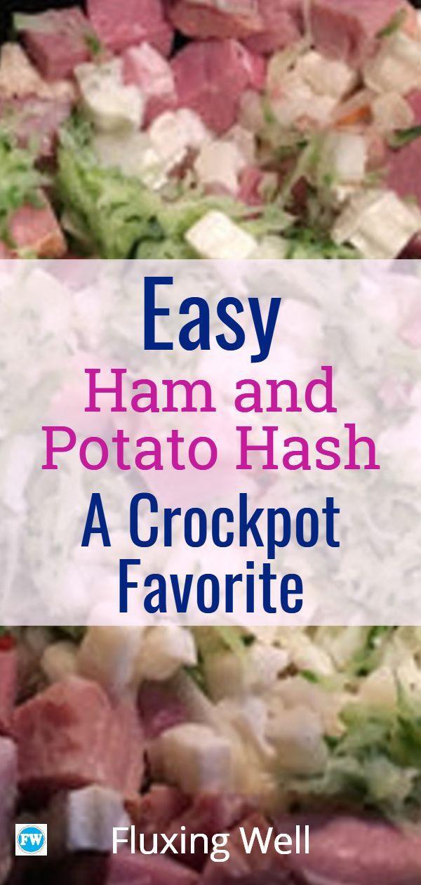 Easy Leftover Ham and Potato Hash: A Crock Pot Favorite ...