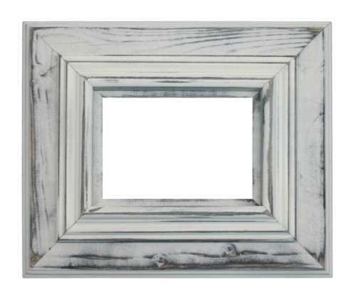 White distressed frame   For the Home   Pinterest   Distressed ...