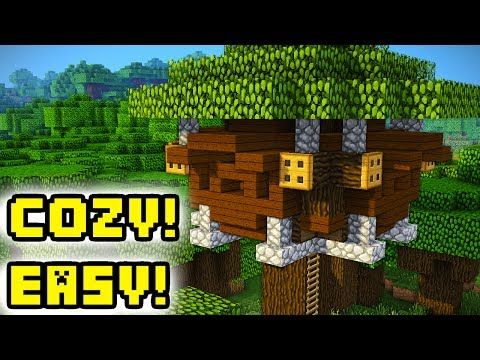 http   minecraftstream com minecraft tutorials minecraft tutorial  cozy survival tree house how to build    Minecraft Tutorial  Cozy Survival  Tree House  How. http   minecraftstream com minecraft tutorials minecraft tutorial