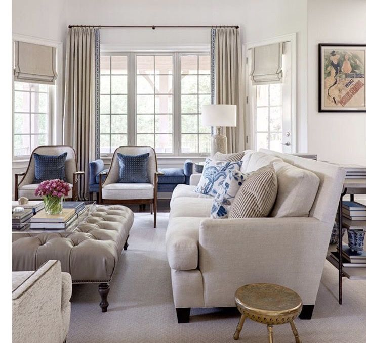 Living Room Seating Arrangement