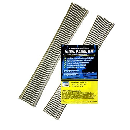 Air Conditioning Window Unit Replacement Vinyl Accordian Side Panel Kit By Ac Safe 13 45 Fits Frames Up To 2 Window Unit Vinyl Panels Window Air Conditioner
