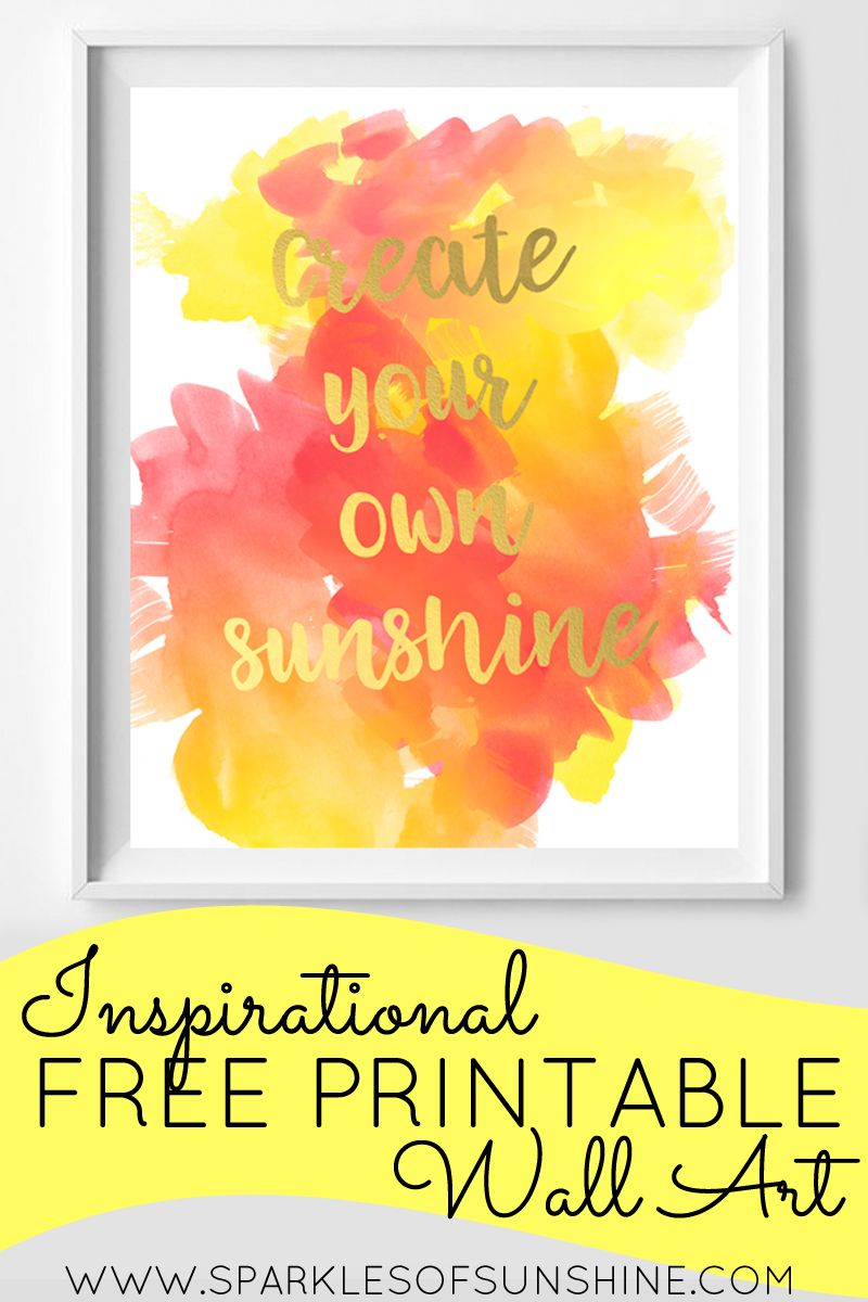Colorful Wall Art Create Your Own Photo - The Wall Art Decorations ...