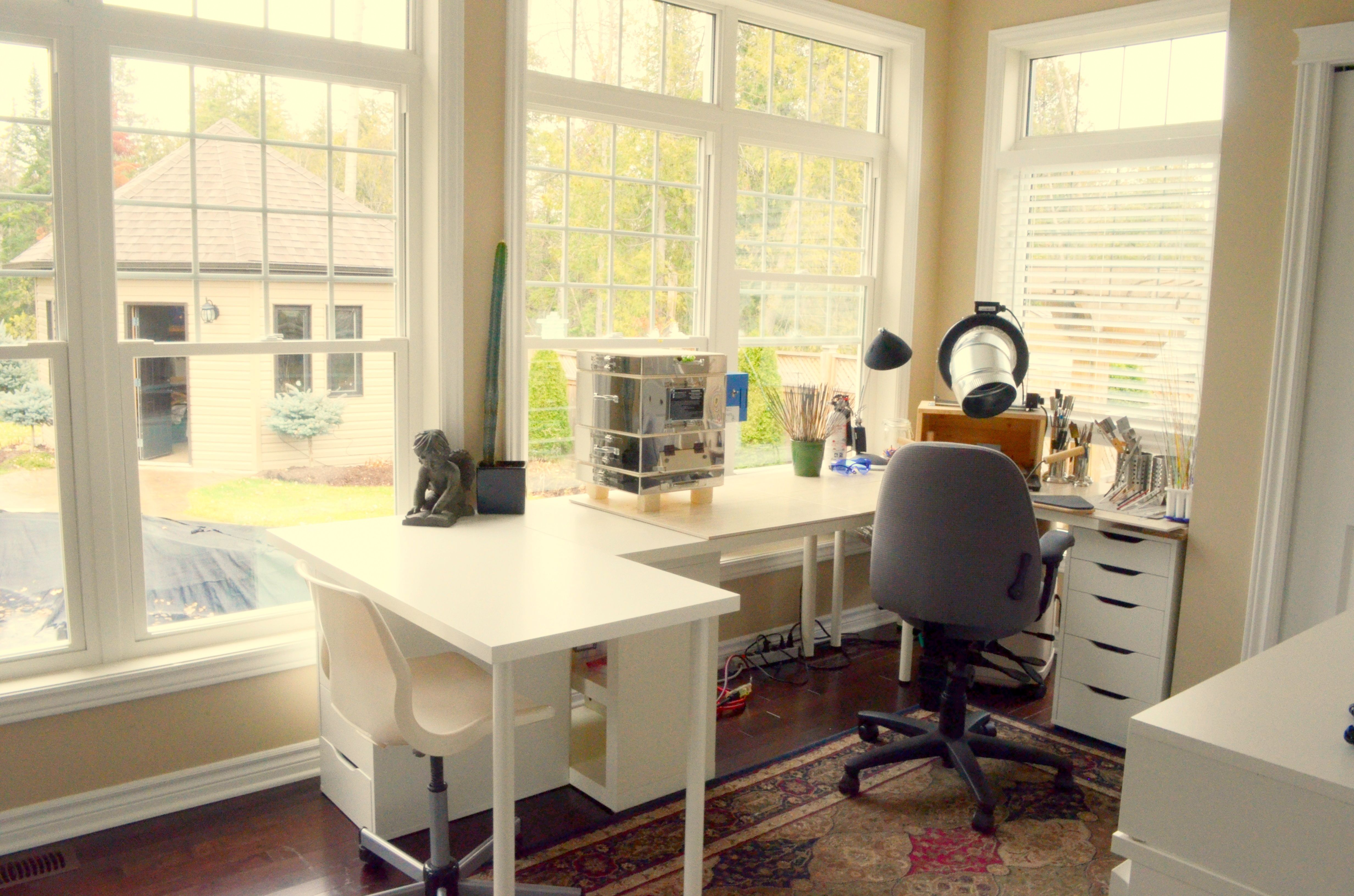 My lampworking studio picture of design station ideas