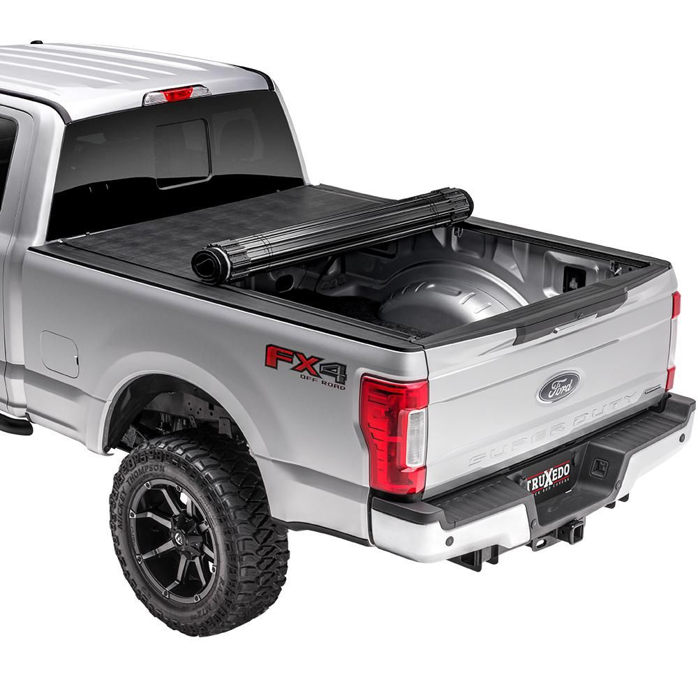 Sentry 09 14 Ford F150 5 Ft 7 In Bed Tonneau Cover 1597601 The Home Depot In 2020 Tonneau Cover Truck Bed Covers Ford F150