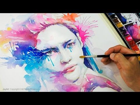 Rose Watercolor Painting Tutorial Level 3 Youtube Visage
