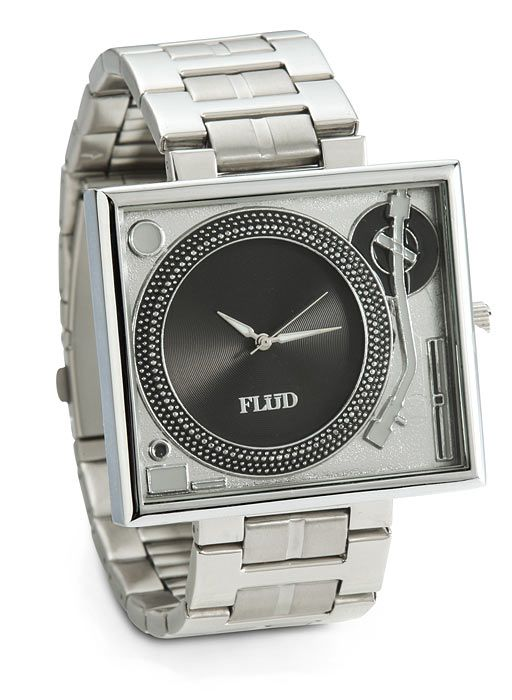 Turntable Metal Wristwatch #swoon