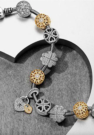 e7fdfc26f Pandora bracelet inspiration- Petals of Love collection #PANDORAbracelet  #PANDORAstyle