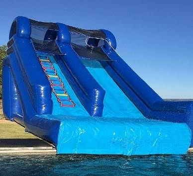 74ef7317951 Shop our huge selection of Inflatable Swimming Pool Slides for Residential  and Commercial Inground Pools