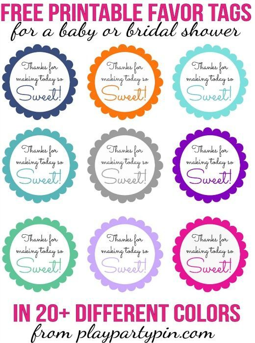 Love this cute  - free baby shower label templates