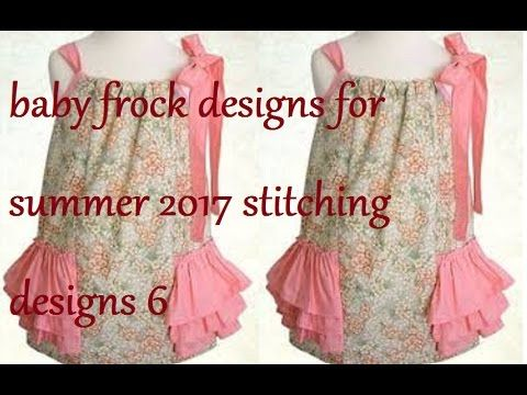 309bfe803 baby frock designs for summer 2017