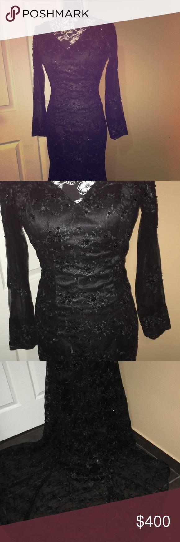 Custom made prom dress nwt prom