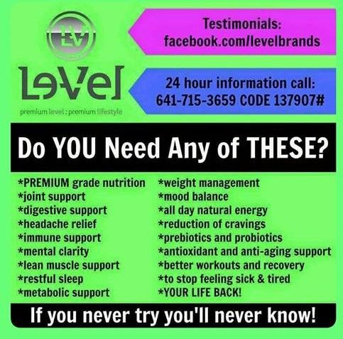Why feel like you are just surviving, when you could be THRIVING? http://dparker123.le-vel.com