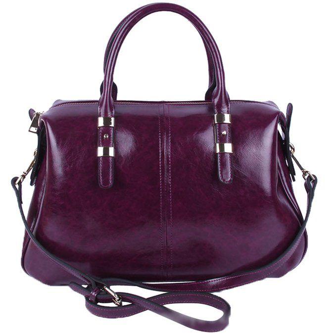 5d1799f66969 Jack Chris®Ladies  Genuine Leather Tote Bag Shoulder Bag Top Handle Handbags