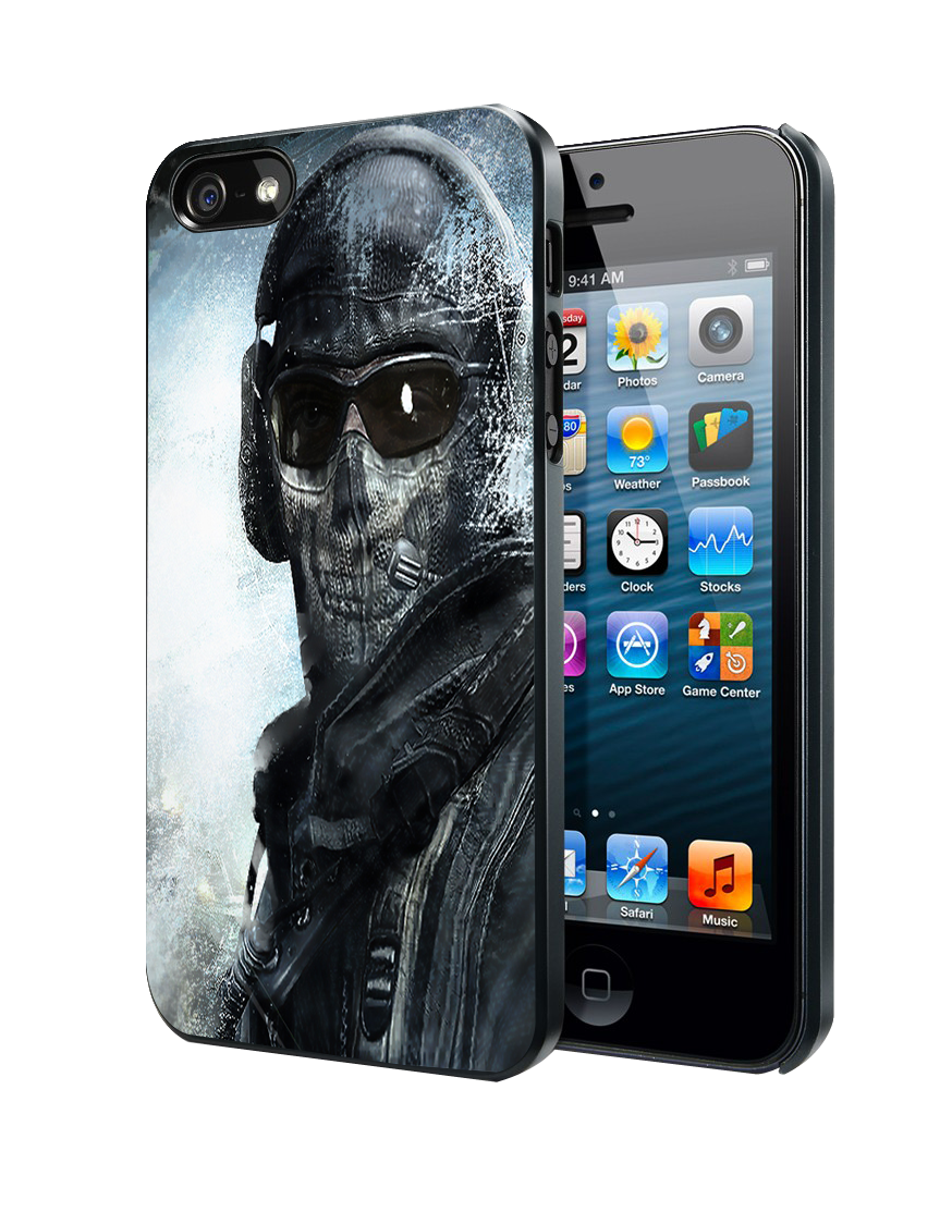Call Of Duty Ghost Mask Samsung Galaxy S3 S4 S5 Note 3 , iPhone 4 ...