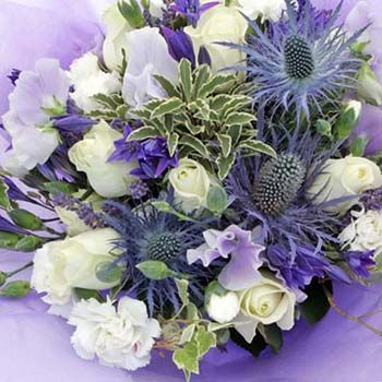 Highland Fling Thistle Bouquet
