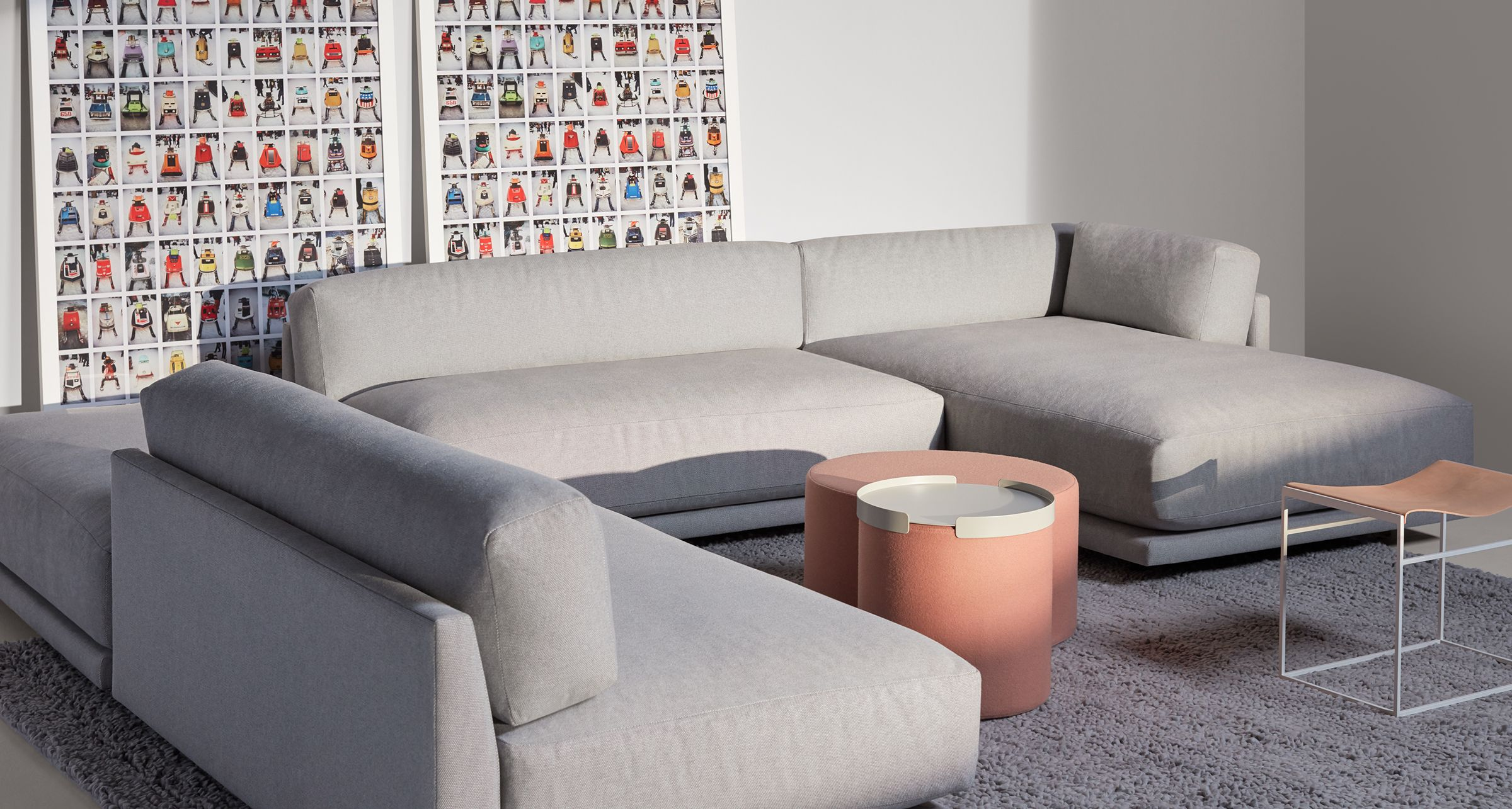 Sunday J Sectional Sofa With Left Chaise