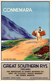 Retro Travel Posters From Ireland | The Travel Tester | www.thetraveltester.com