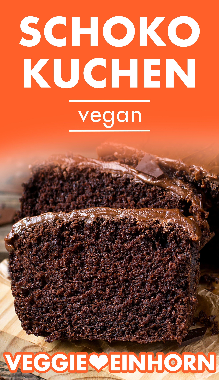 Einfacher veganer Kuchen | Schokokuchen ohne Ei backen | Saftiger Schokokuchen ohne Ei und Milch