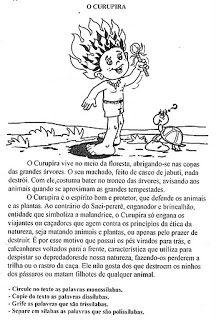 A Lenda Do Curupira Atividades De Folclore Folclore Curupira