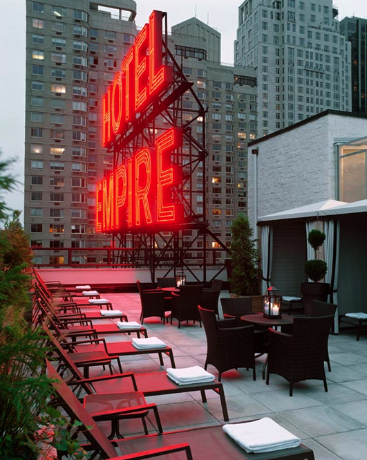 New York The Empire Hotel Rooftop Nice Place Good Drinks New York Vacation New York Hotels Empire Hotel Nyc