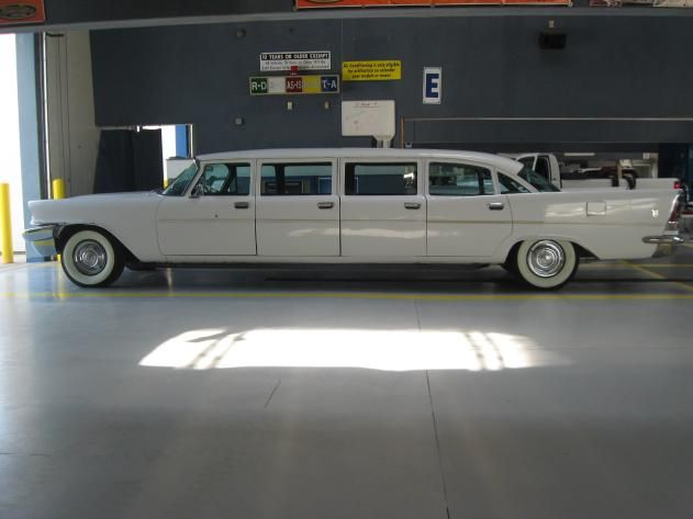 1958 Chrysler 8 Door Airport Limo Maintenance Of Old Vehicles The