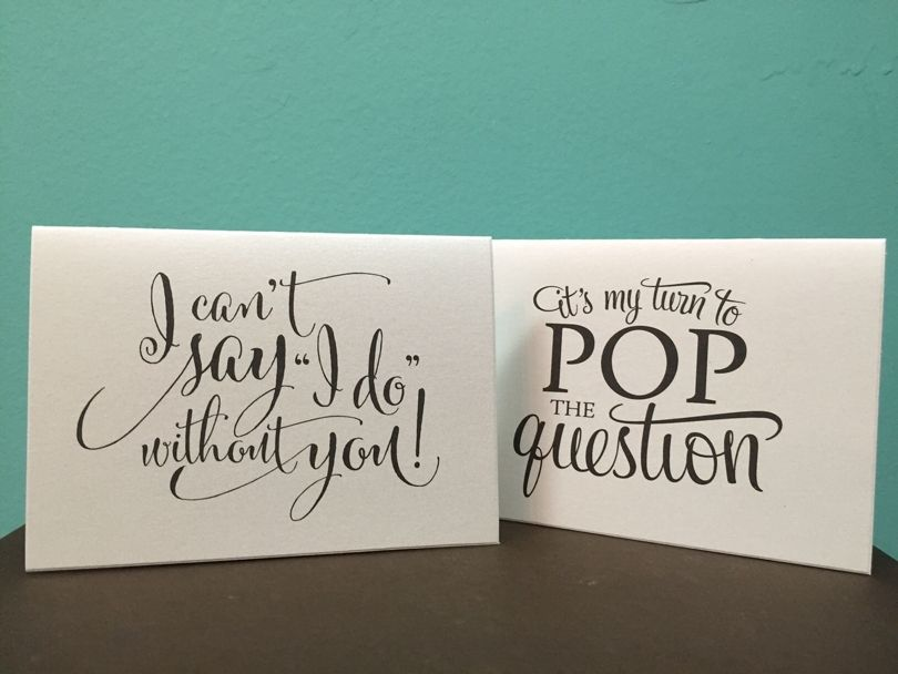 Cute Ways to ask Your Bridesmaids to be in Your Wedding | Southern ...