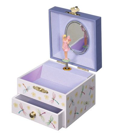 Love this Purple Fairy Musical Jewelry Box on zulily zulilyfinds