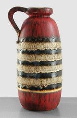 Scheurich 484-47 - Floor Vase (Fat Lava Wadersloh) Tags: west vintage lava floor fat retro german vase pottery keramik wgp scheurich