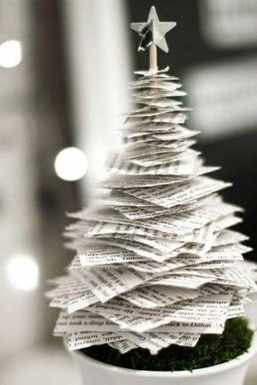 Tannenbaum basteln: 30 kreative DIY Ideen für Weihnachtsbasteln #ideisuper
