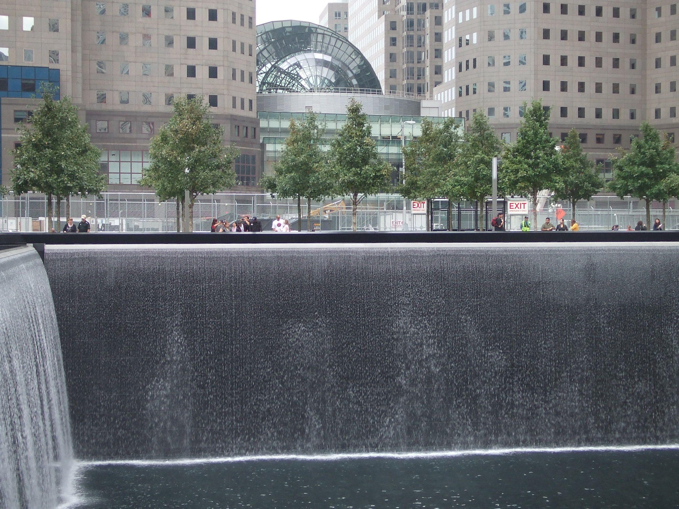 9 11 memorial reflection pool 2 and winter garden south beach