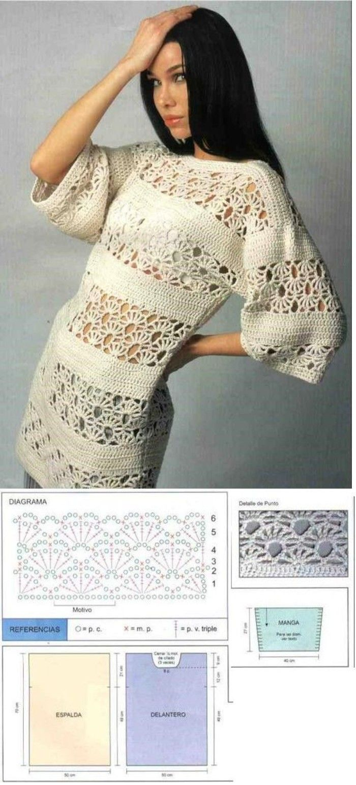 I\'ll have to figure this out.-- | Crochet - Sweaters, Jackets, Coats ...