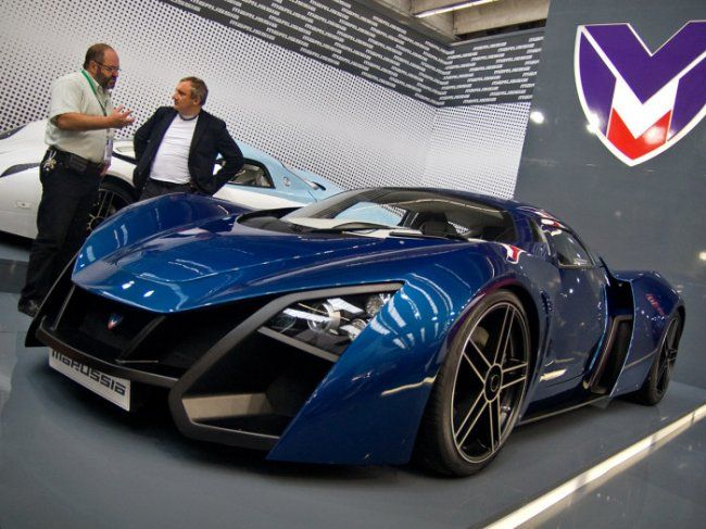 Merveilleux Marussia B2. The Most Expensive Russian Cars