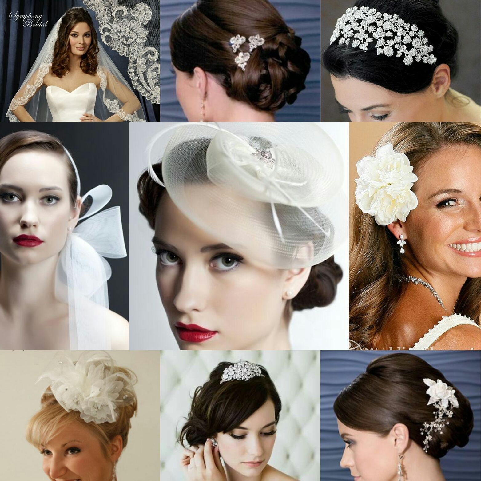 Feather coal hair accessories emily kent wedding hair bridal musings - Makeup
