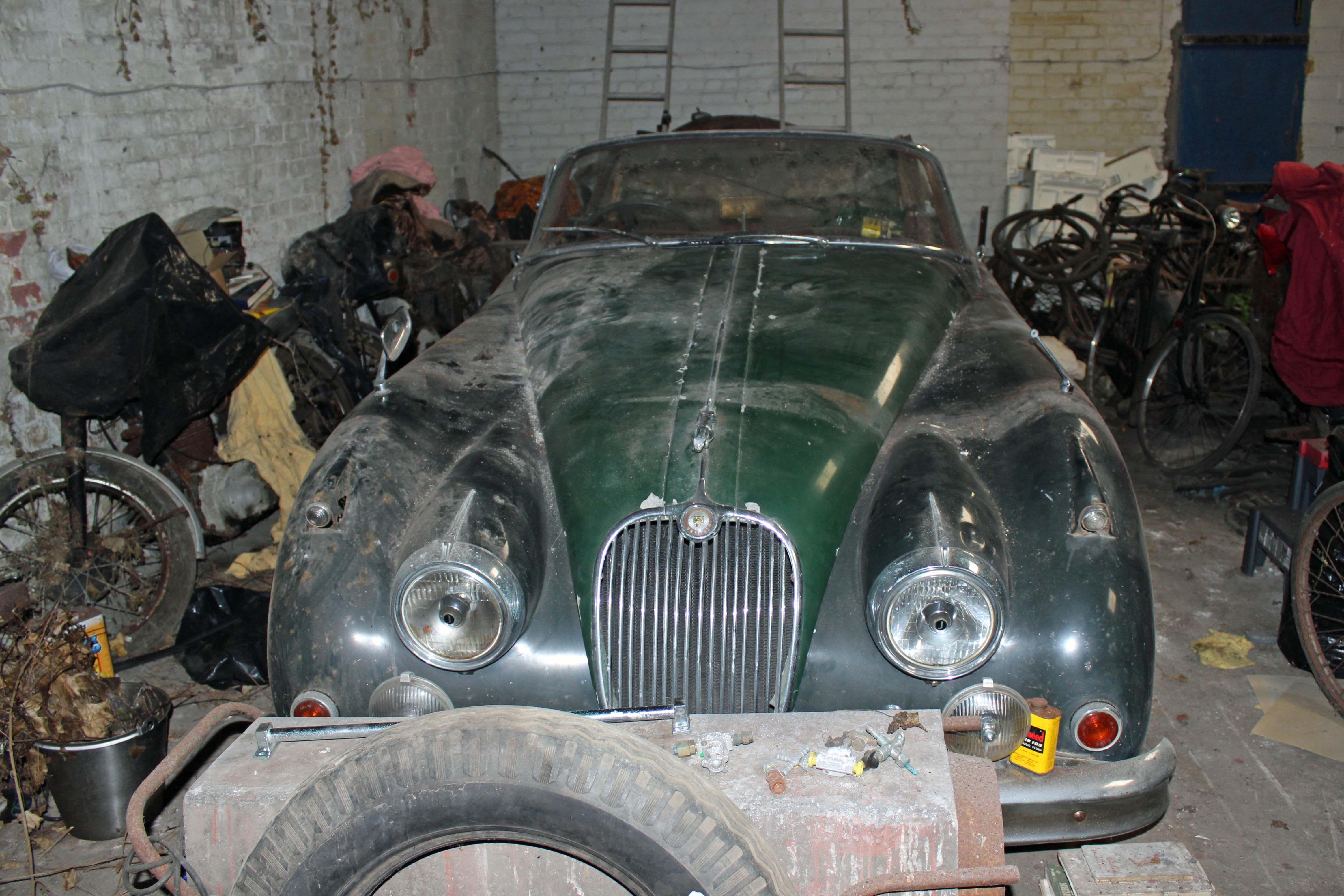 Jaguar XK150 3.8 S barn find   BARNFINDS   Pinterest   Barn finds ...