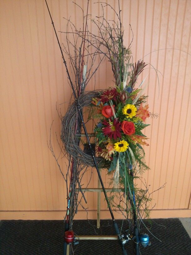 Fisherman Tribute Sympathy Flowers Funeral Flower