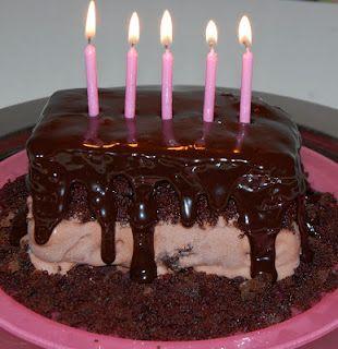 Easy Hot Fudge Chocolate Ice Cream Cake