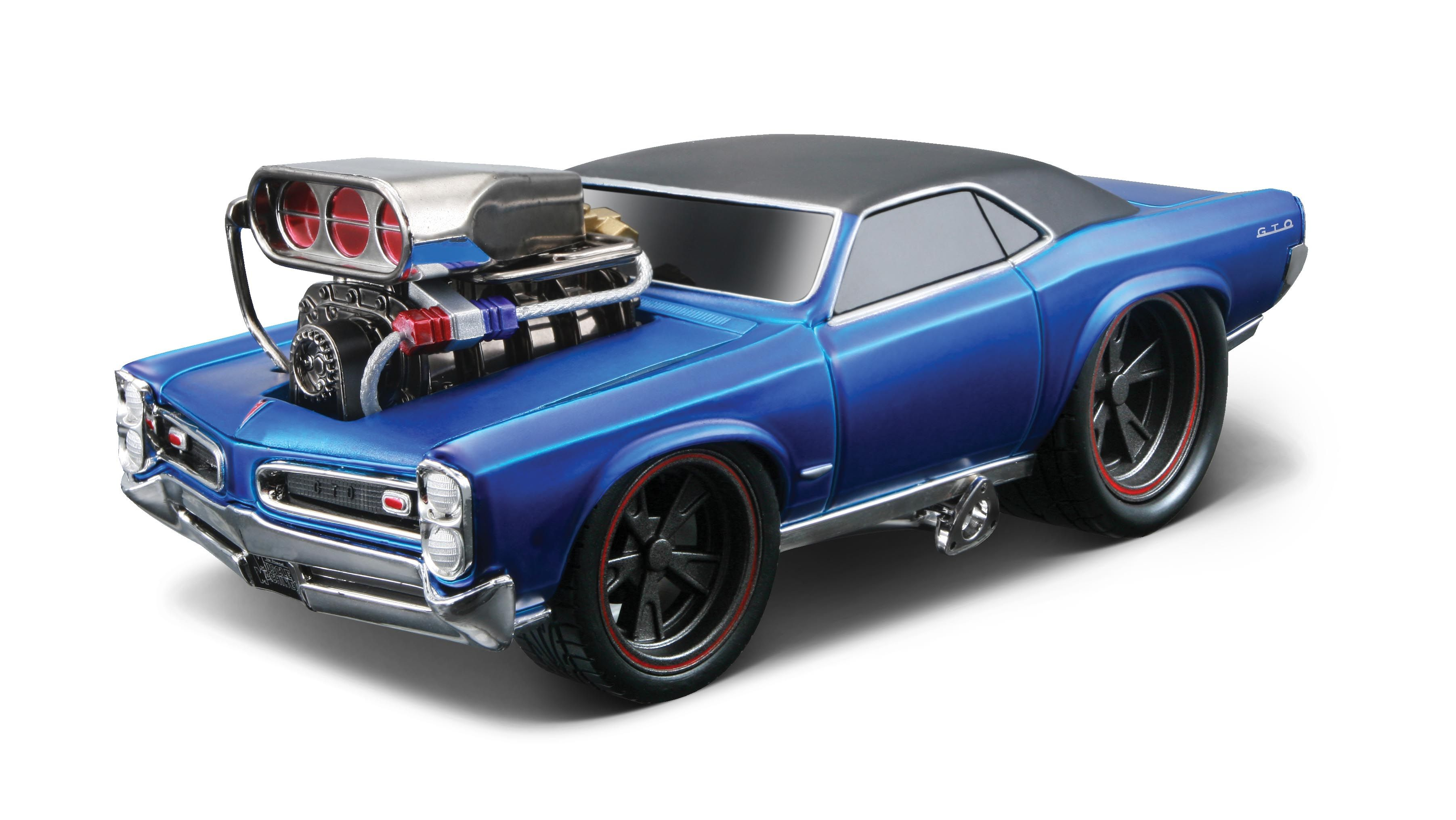 Researching transparent blue scale 1966 pontiac gto model cars find out all you need to know at hobbydb