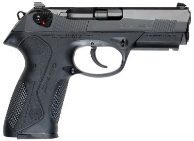 Beretta px4 storm not real pretty but shoots great.