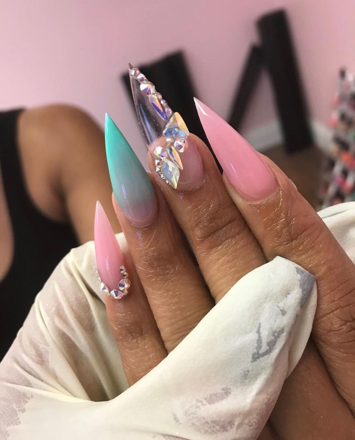 Follow: @Tropic_M for more ❄️ | Bomb Nails in 2019